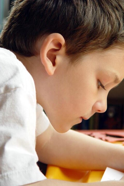 A Child's Focus