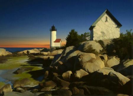 Annisquam Light, Cape Ann, Mass