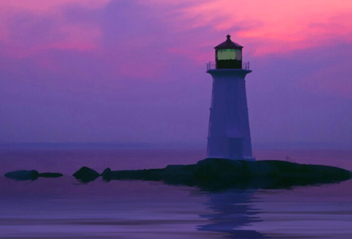 Lighthouse at Peggy's Cove, NS