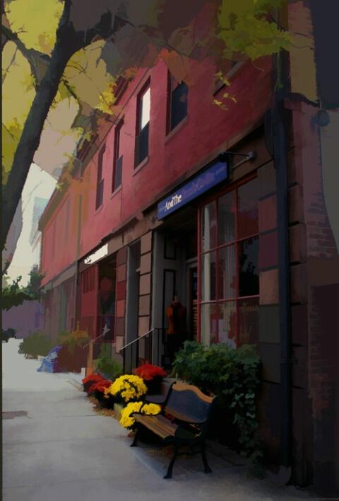 Storefront, Wickford, RI