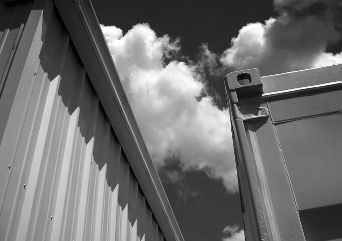 Between the Containers