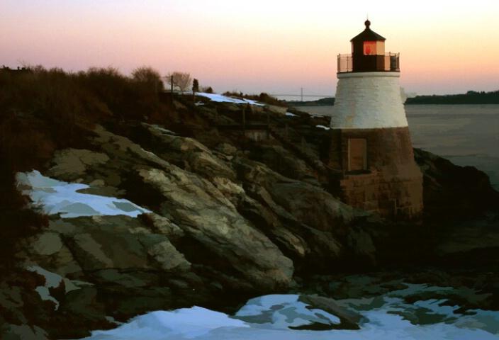 Castle Hill Light, Newport Rhode Island