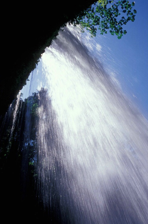 Waterfall-a different view