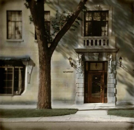Evanston Door-Holga