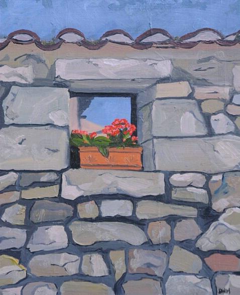 Flowers In Window - ID: 209397 © Jim Miotke