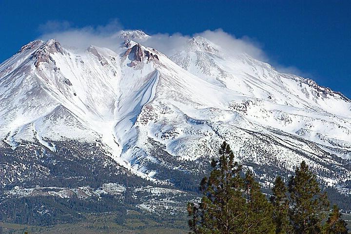 Mt. Shasta in Fall