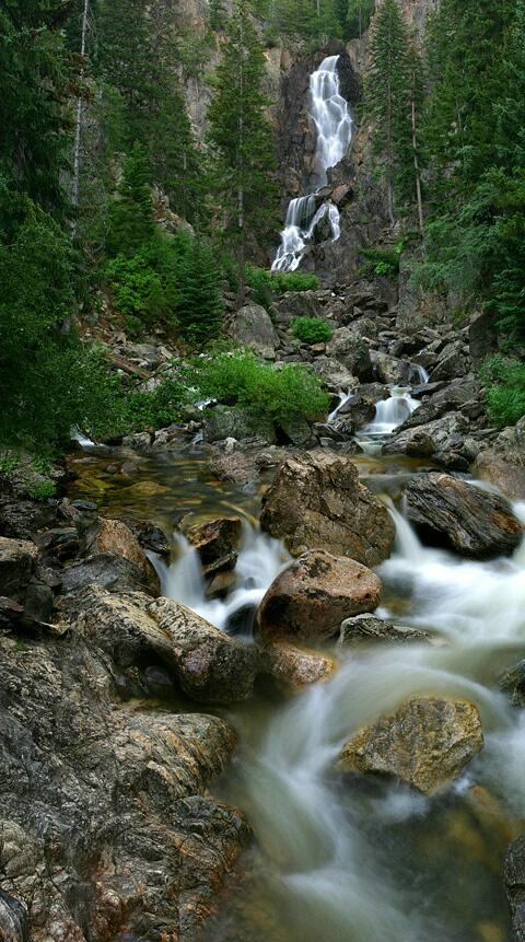 Summer At Fish Creek Falls