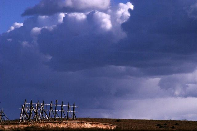 Shangrila Clouds II: Barley Frame