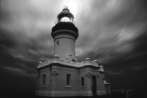 Byron Bay Lighthouse in B&W