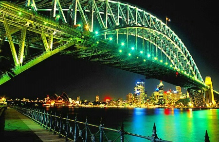 Sydney AUS at Night