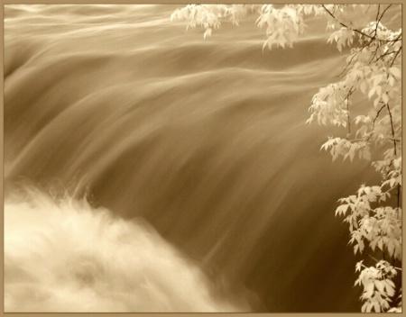 ......like a river