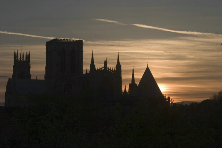 York Sunset Silhouette - ID: 425539 © Jim Miotke