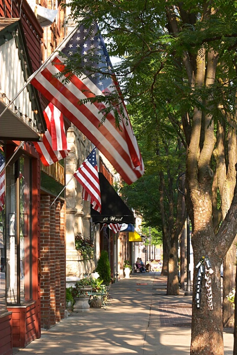 An American Town - Naperville, Illinois