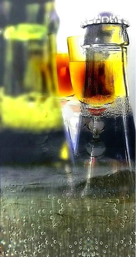 Cool Golden Beer