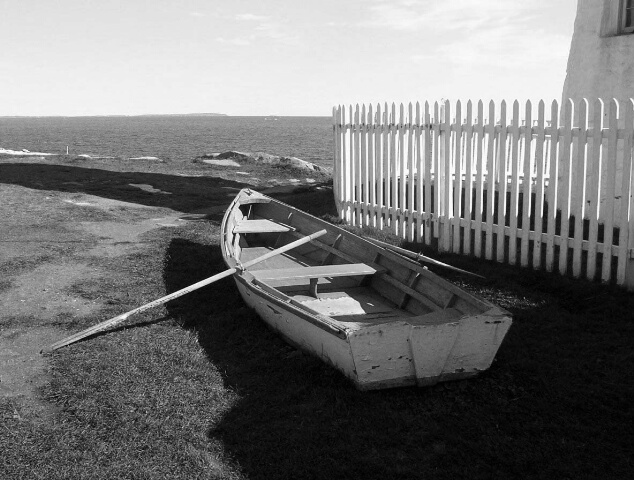 Rowboat  Near Light
