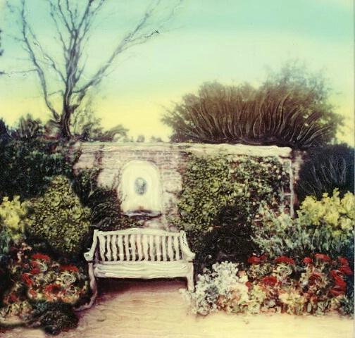 garden bench sx70