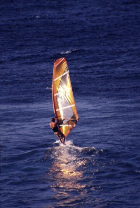 Windsurfer at Ho'okipa - ID: 718324 © Lamont G. Weide