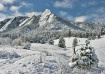 Powdery Flatirons