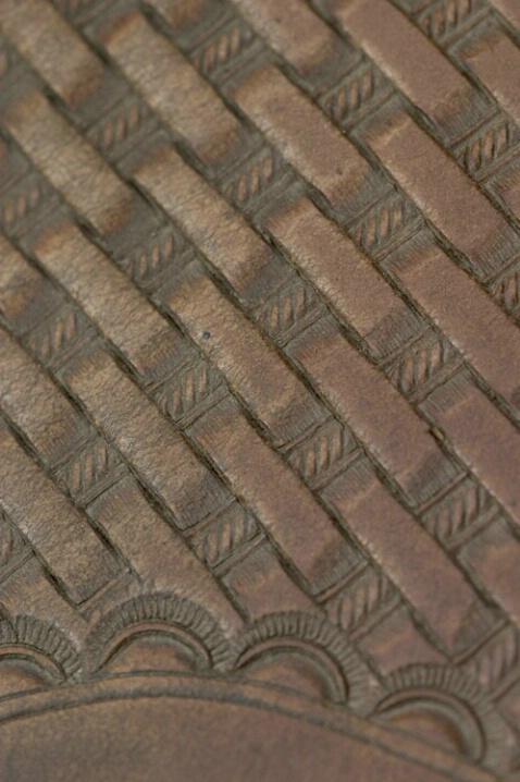 Saddle Detail Pattern Of Diagonal Lines - ID: 538199 © Jim Miotke