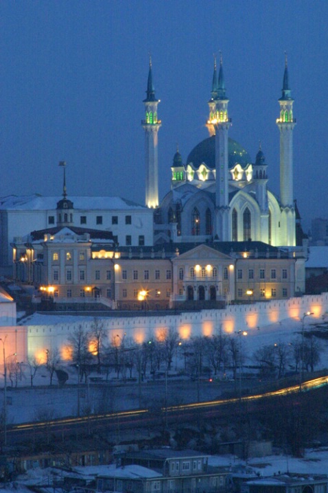 Kazan Early Evening - ID: 538442 © Jim Miotke