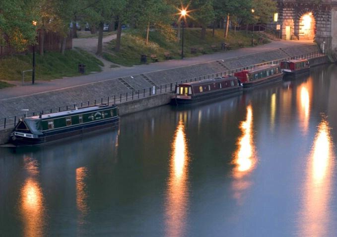 Bath Boats In Early Evening - ID: 538444 © Jim Miotke