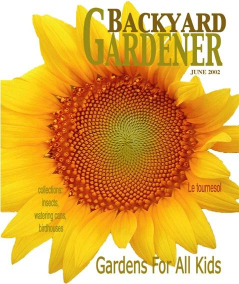 Backyard Gardener Magazine Cover