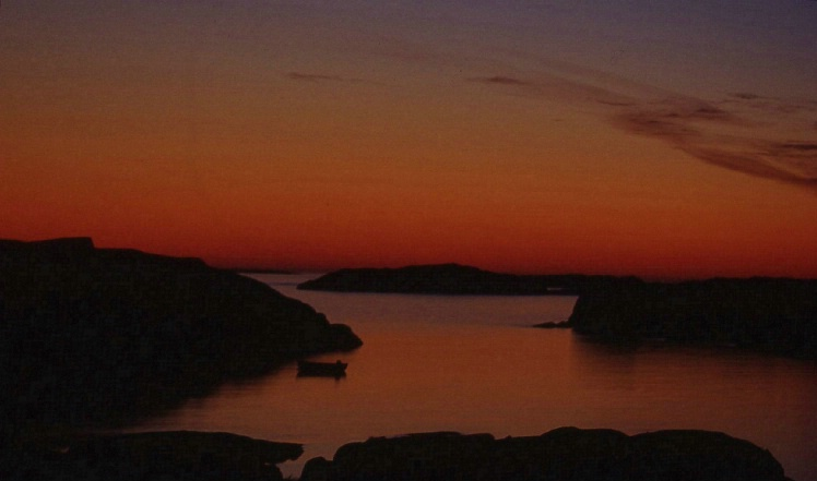 Poole's Island Sunrise - ID: 1449270 © Frieda Weise