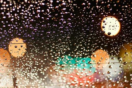 Rainy nights & city lights