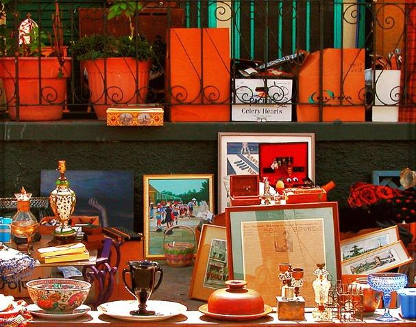 Unframed Yard Sale Photo
