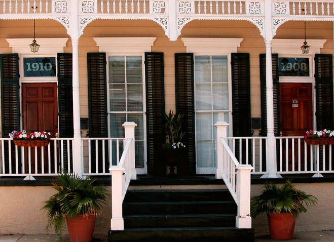 Cottage Porch, Faubourg Marigny