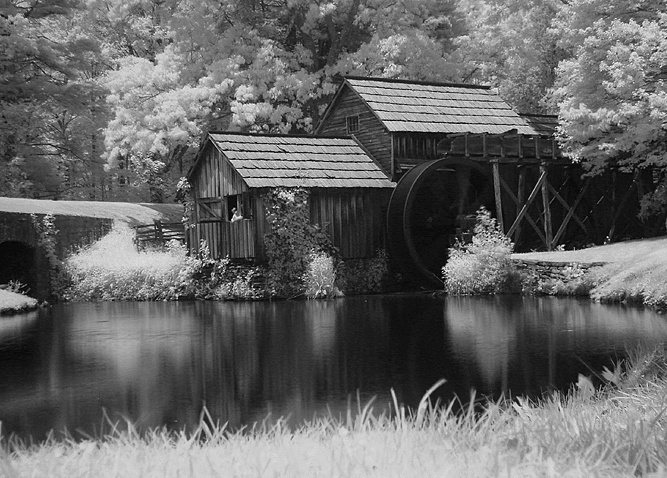 Mabry's Mill in IR*