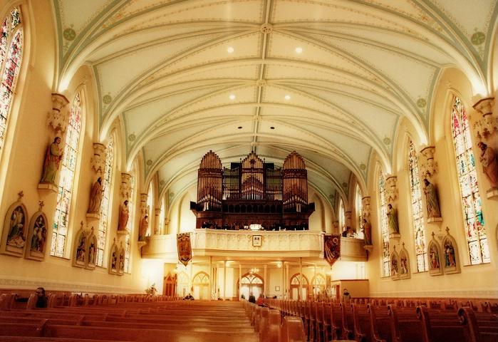 The Organ at St. Martin's