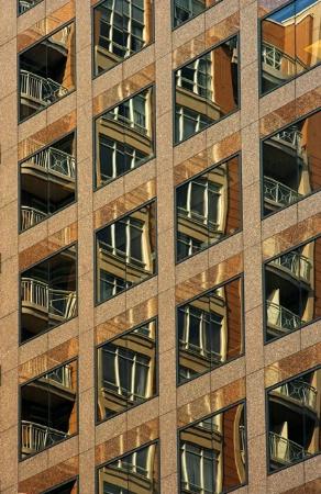 Crisscross Reflections