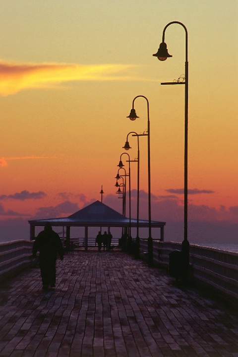Shorncliffe Jetty at dawn
