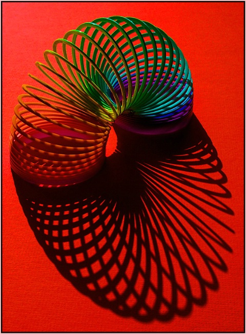 Slinky in Red