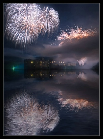 Firework Reflections