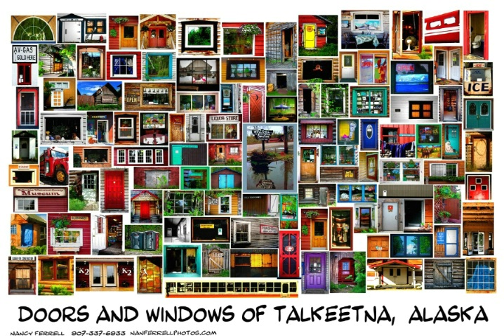 Doors and Windows of Talkeetna, Alaska