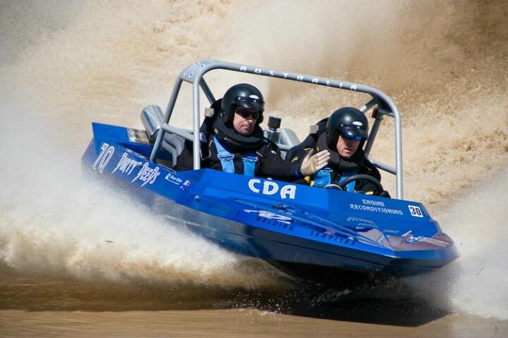 """Dirty Deeds"" - V8 Jet Sprint boat racing"