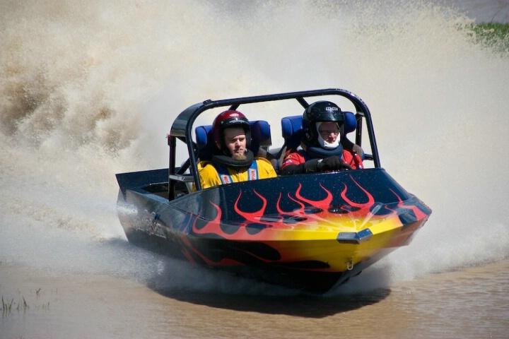 """Bam Ba Lam"" - V8 Jet Sprint boat racing"