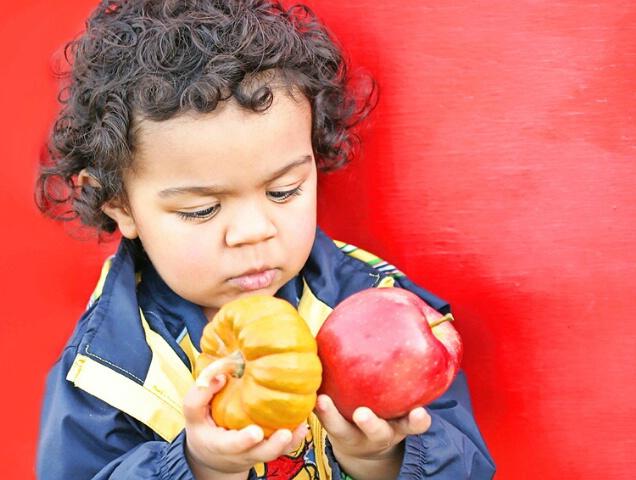 Apple, Peaches, Pumpkin Pie