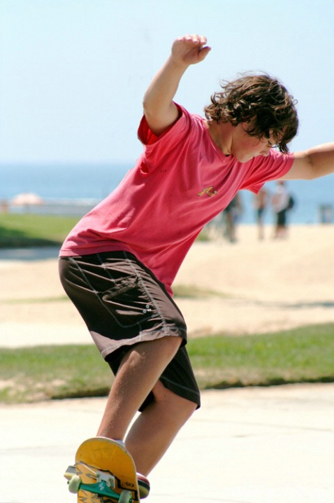 Skateboarder - ID: 5599718 © Mary B. McGrath
