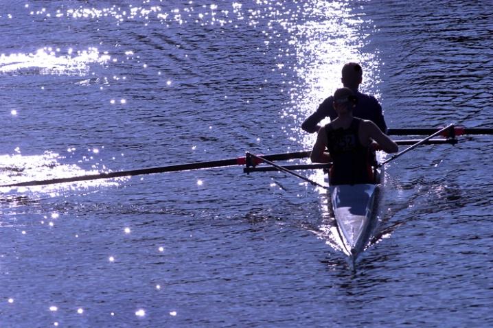 University rowers