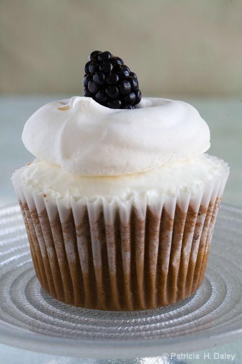 Meringue Topped Cupcake