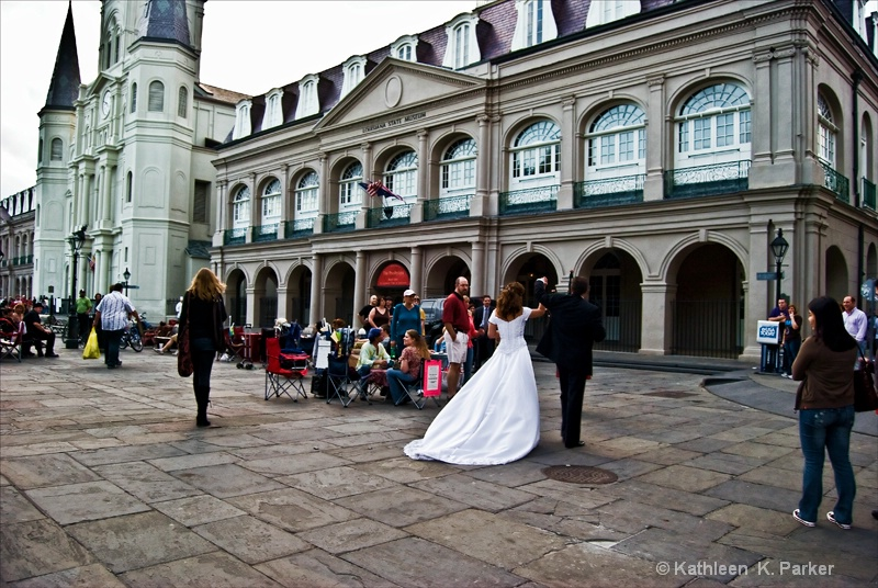 Wedding in the Quarter, New Orleans, LA
