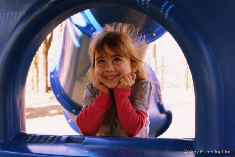 Willow at the Playground