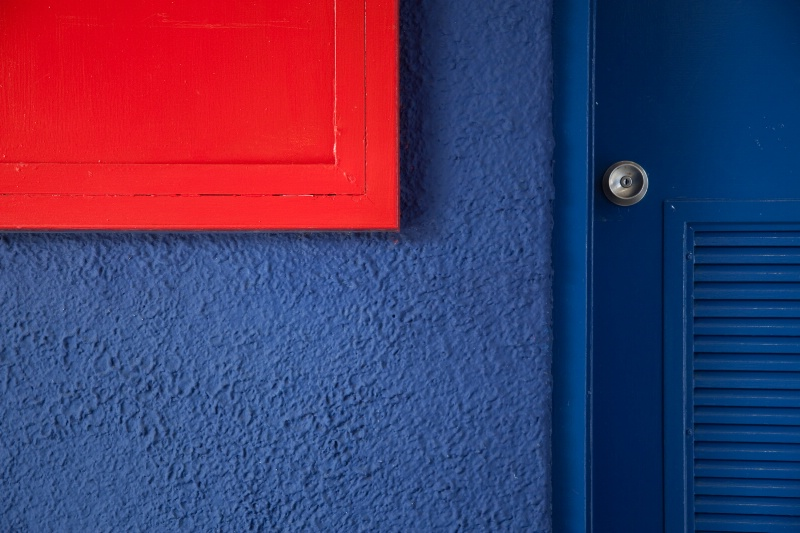 Blue Door Study - ID: 7997745 © Jim Miotke