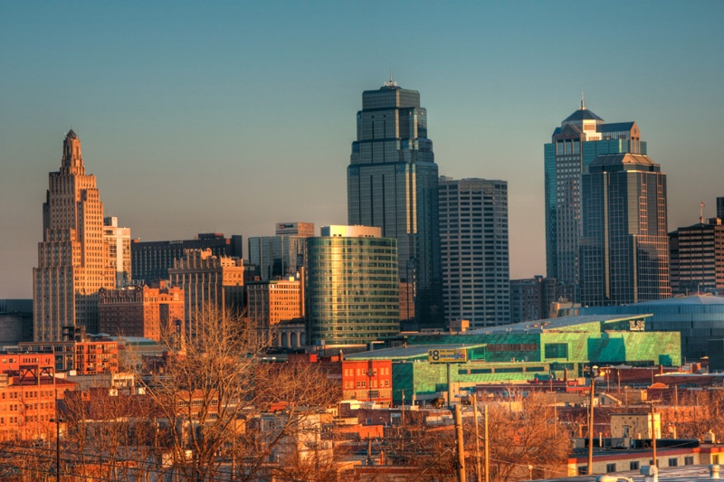 Kansas City Sunrise HDR DE - ID: 8037742 © Lamont G. Weide