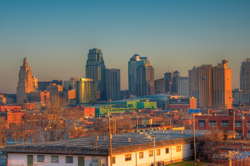 Kansas City - HDR combo of 7 exposures - ID: 8047002 © Lamont G. Weide