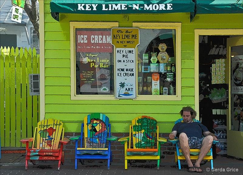 Key Lime N More - ID: 8276433 © Gerda Grice