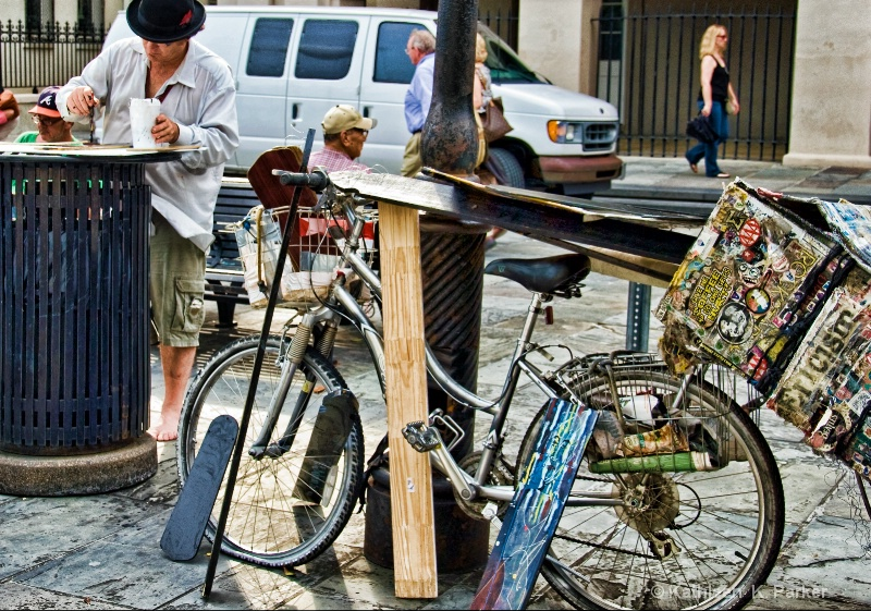 The Artist' s Bike, New Orleans